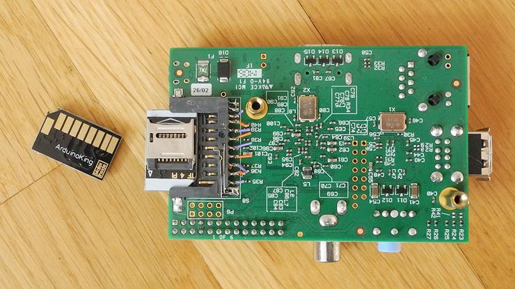 Raspberry pi 1 socket adapter