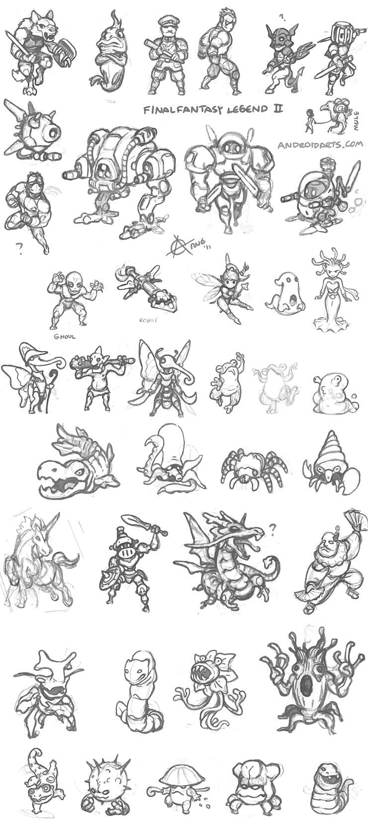 Arne - Retro gaming, concept art and ideas