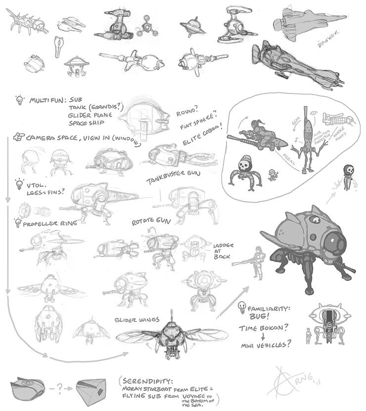 spaceship vehicle design