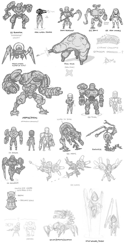 Quake Concept Art
