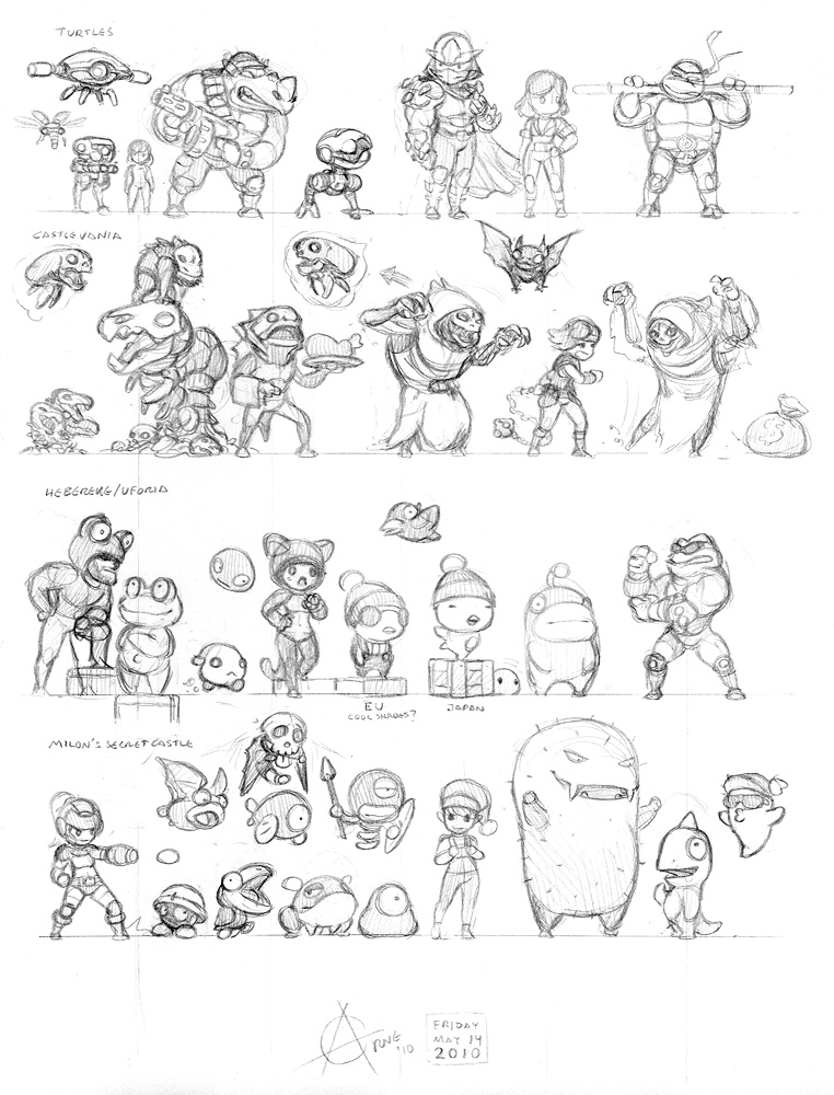 Misc characters from NES games
