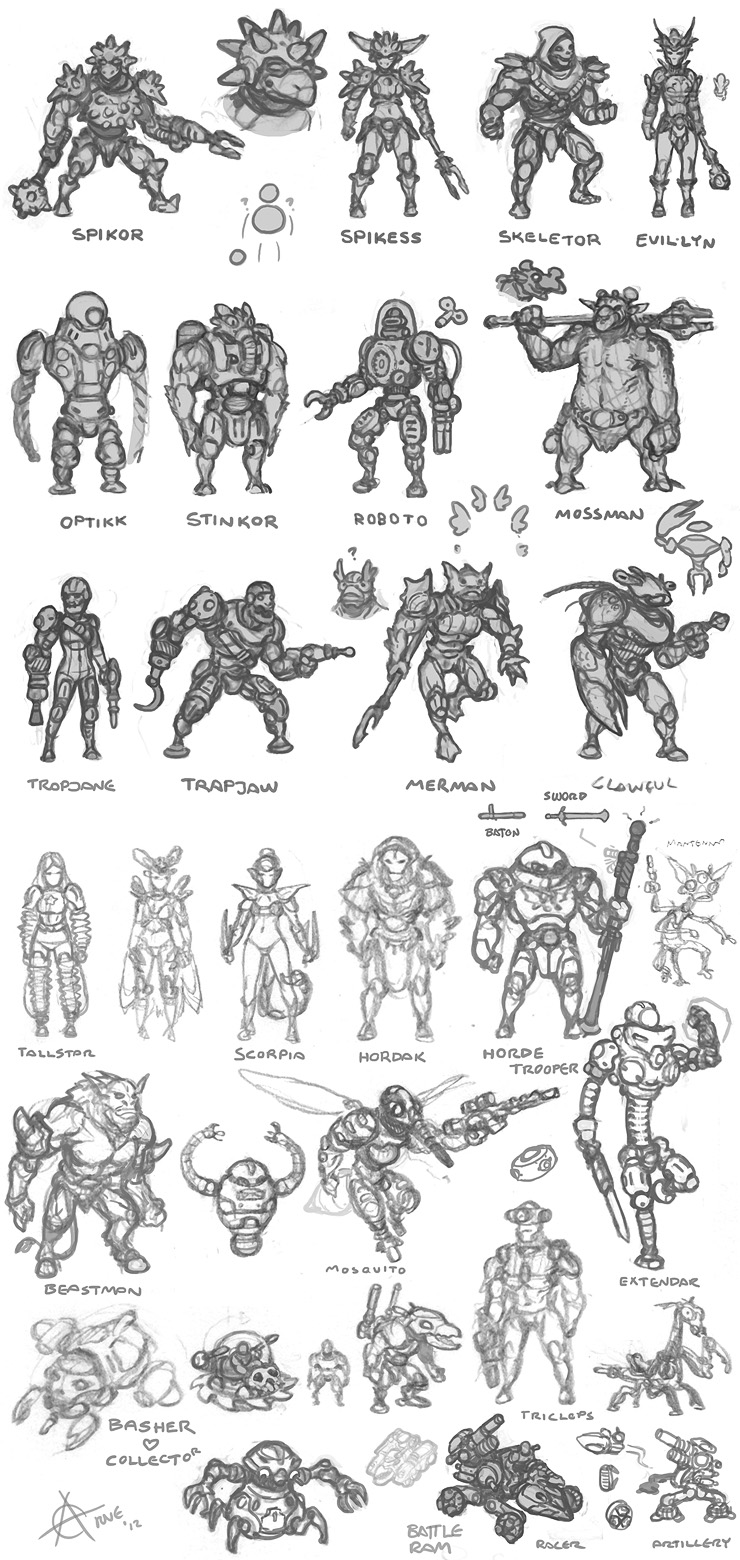 He-Man concepts