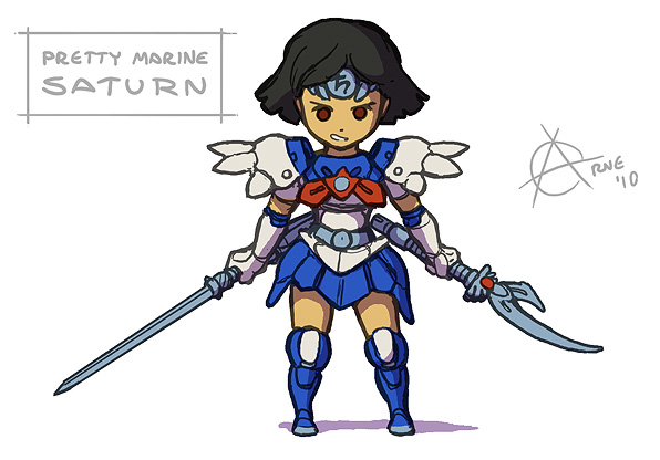 Sailor Saturn Marine