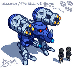 The Killing Game Show Walker
