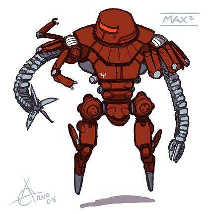Maximilian robot from Black Hole