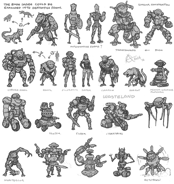 Wasteland concepts