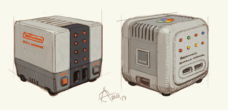 Tv Good Heat Preservation Authentic Case / Box And Manual Only Sega Genesis Super Smash T.v