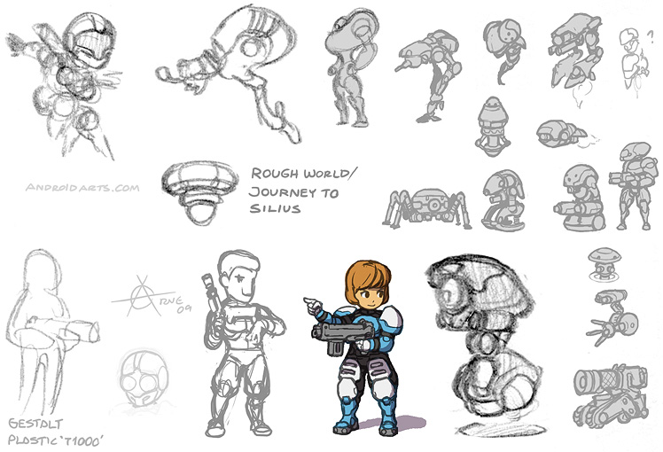 Journey to Silius redesign art