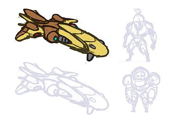 StarCraft Protoss Scout