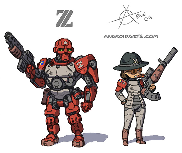 Z by Bitmap Brothers redesign art