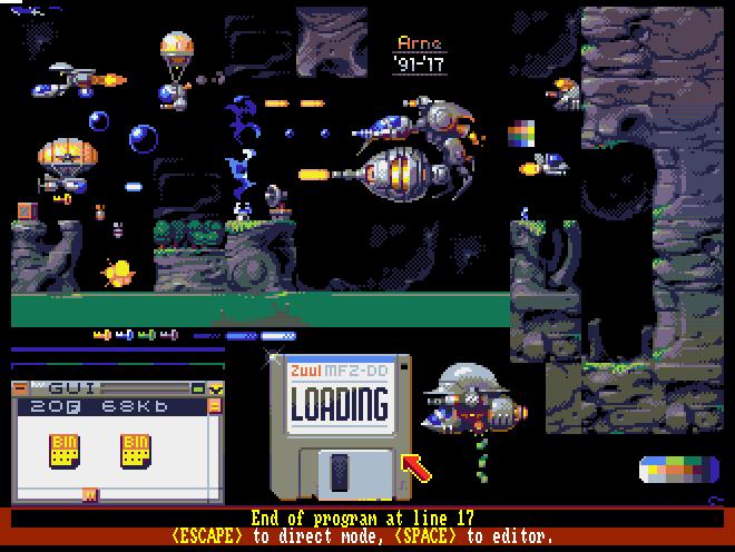 Amiga pixels